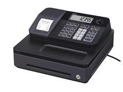 Casio thermische kasregister SE-G1, zwart, standaard geldlade (5 munten, 3 biljetten)