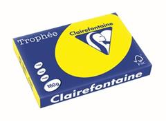 Clairefontaine Trophée Intens A3 zonnegeel, 160 g, 250 vel