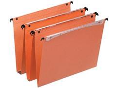 Esselte hangmappen voor laden Uniscope tussenafstand 390 mm, V-bodem, met haken, doos van 50 stuks