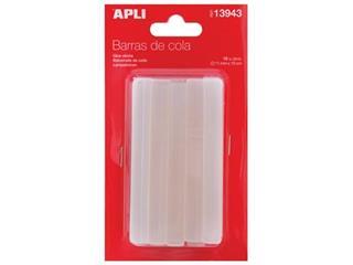 Apli transparante lijmpatronen 11 mm, blister met 10 stuks