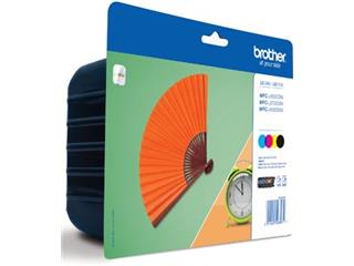 Brother inktcartridge 4 kleuren, 2400 pagina's - OEM: LC-129XLVALBPDR