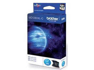 Brother inktcartridge cyaan, 1200 pagina's - OEM: LC-1280XLC