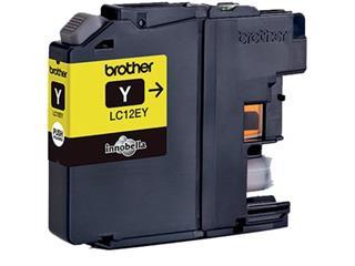 Brother inktcartridge geel, 1.200 pagina's - OEM: LC-12EY
