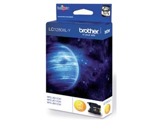 Brother inktcartridge geel, 1200 pagina's - OEM: LC-1280XLY