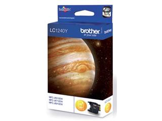 Brother inktcartridge geel, 600 pagina's - OEM: LC-1240Y