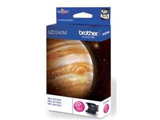 Brother inktcartridge magenta, 600 pagina's - OEM: LC-1240M