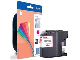 Brother inktcartridge magenta, 600 pagina's - OEM: LC-223M