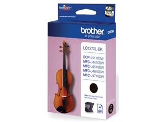 Brother inktcartridge zwart, 1200 pagina's - OEM: LC-127XLBK