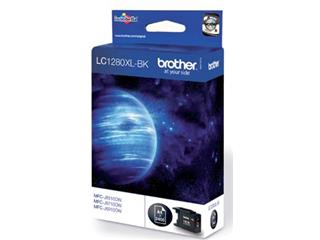 Brother inktcartridge zwart, 2400 pagina's - OEM: LC-1280XLBK