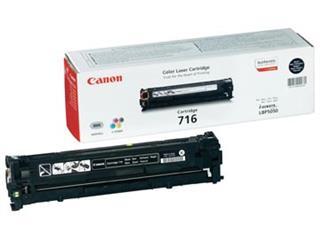 Canon Tonercartridge zwart 716BK - 2300 pagina's - 1980B002