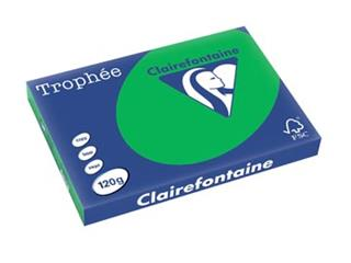 Clairefontaine Trophée Intens A3 biljartgroen, 120 g, 25 vel