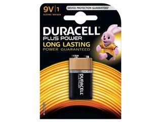 Duracell batterij Plus Power 9V, op blister
