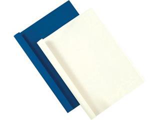 Fellowes thermische omslagen ft A4, 1,5 mm, pak van 100 stuks, leatherlook, wit