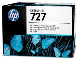 HP printkop 727, OEM B3P06A, 6 kleuren