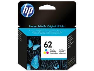 HP inktcartridge 62, 165 pagina's, OEM C2P06AE, 3 kleuren