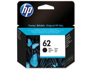 HP inktcartridge 62, 200 pagina's, OEM C2P04AE, zwart