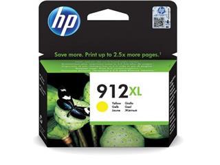 HP inktcartridge 912XL, 825 pagina's, OEM 3YL83AE#BGX, geel