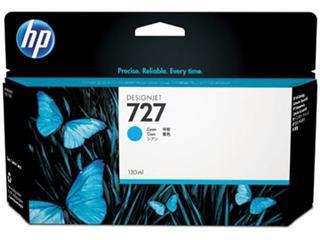 HP inktcartridge 727, 130 ml, OEM B3P19A, cyaan