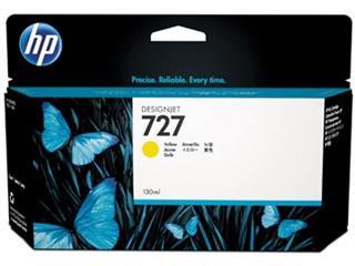 HP inktcartridge 727, 130 ml, OEM B3P21A, geel