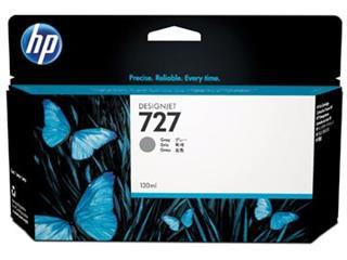 HP inktcartridge 727, 130 ml, OEM B3P24A, grijs