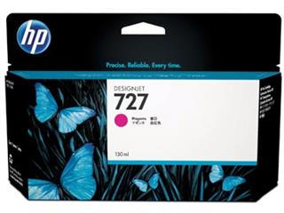HP inktcartridge 727, 130 ml, OEM B3P20A, magenta