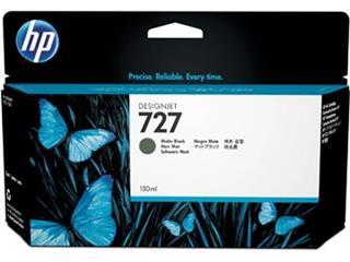 HP inktcartridge 727, 130 ml, OEM B3P22A, zwart mat