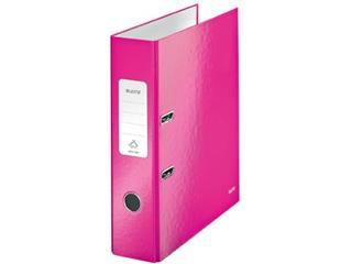 Leitz WOW ordner roze, rug van 8,5 cm