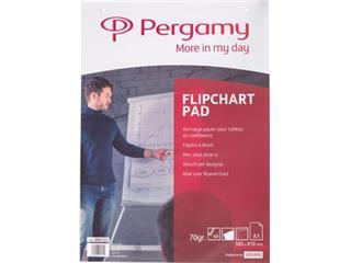 Pergamy flipchartblok, ft A1, effen, rol met 40 blad