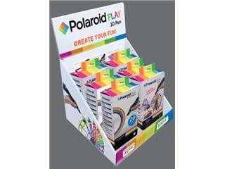 Polaroid 3D pen Play, display met 6 stuks (3 x 3D pen + 3 x filament voor 3D pen)