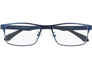 SILAC Blue Metal leesbril, mat nickelvrij blauw metaal, +1,00