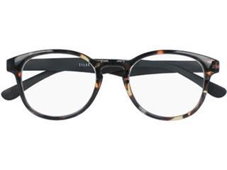SILAC Turtle & Wood leesbril, turtle polycarbonate met veren in houtimitatie, +1,00