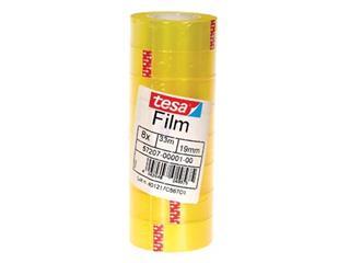 Tesafilm Standard, ft 19 mm x 33 m, toren met 8 rolletjes
