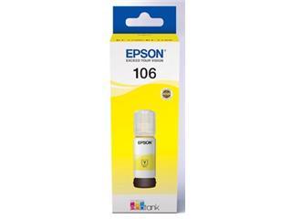 Epson Ink Fles C13T00R440 Geel