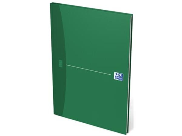 Oxford OFFICE Essentials gebonden boek, 192 bladzijden, ft A4, geruit 5 mm