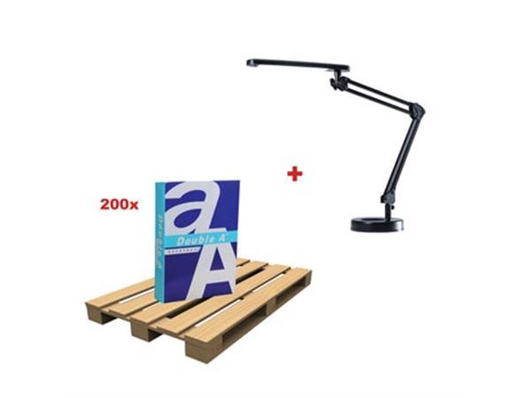 200 x Double A Everyday ref D470500 + GRATIS 1 x Lamp 5010640
