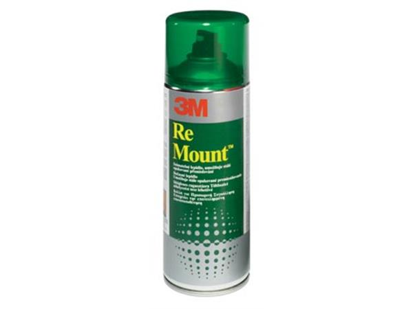 3M Re Mount Spray