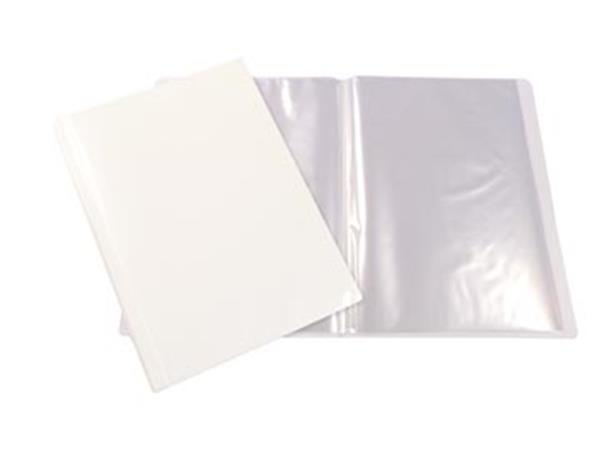 Beautone personaliseerbaar showalbum, A4, 60 tassen, wit