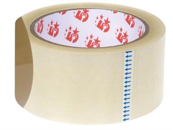 STAR verpakkingsplakband ft 50 mm x 66 m. transpar