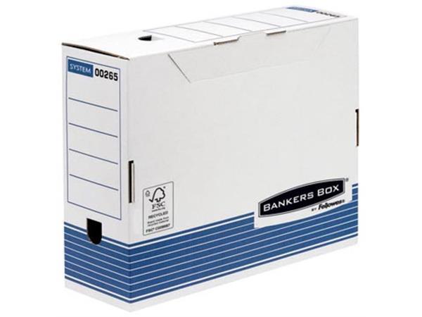Archiefdoos Bankers Box voor ft A4 (31.5 x 26 cm).