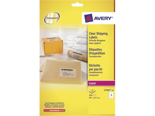 Avery L7565-25 verzendetiketten ft 99.1 x 67.7 mm