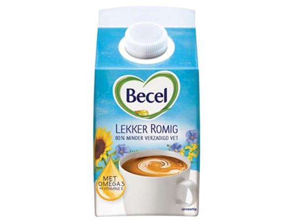 Becel Koffiecreamer tetra, doos van 467 ml
