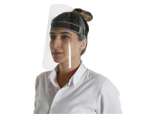 Beschermend gezichtsmasker, transparant, ft 30 x 24,5 cm