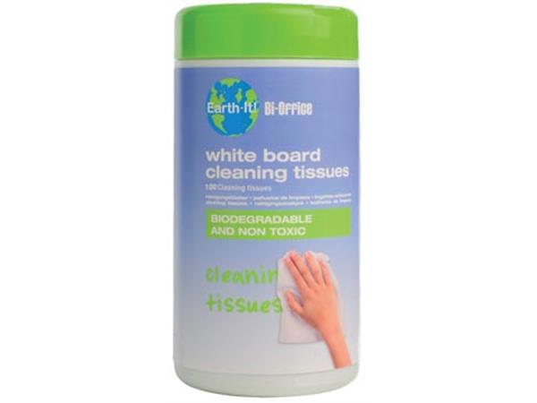 Bi-Office Reinigingsdoekjes Earth-It whiteboard pa