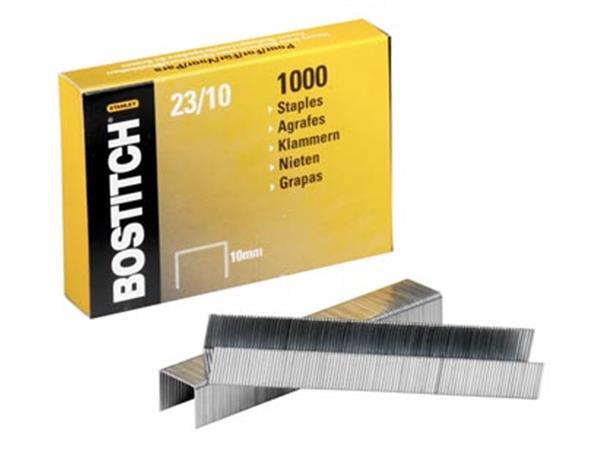 Bostitch nietjes 23-10-1M. 10 mm. verzinkt. voor P