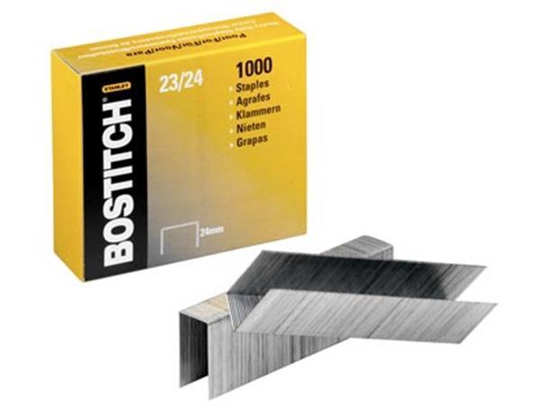 Bostitch nietjes 23-24-1M. 24 mm. verzinkt. voor 0
