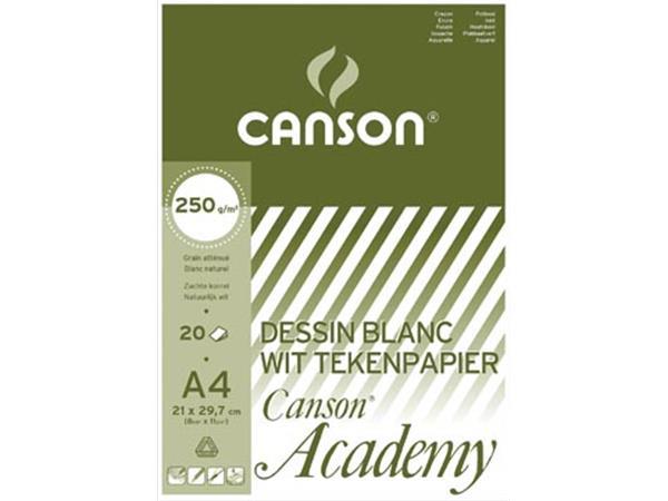 Canson Tekenblok Academy ft 21 x 29,7 cm (A4)