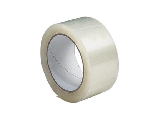 Celfix verpakkingsplakband ft 50 mm x 66 m. PP. tr
