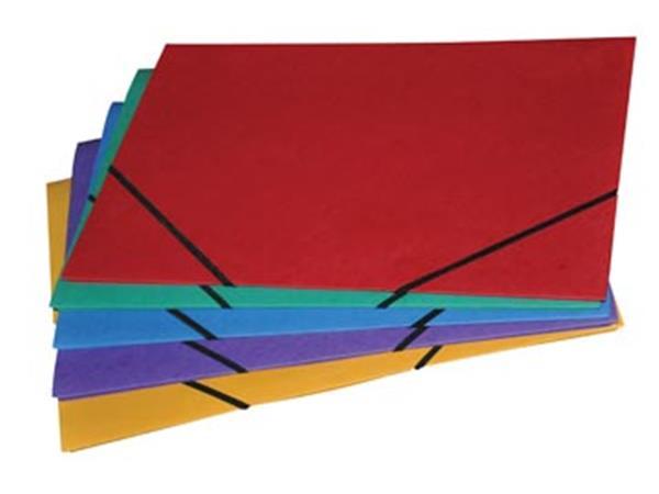 Class'ex elastomap, ft 28 x 38 cm, met kleppen, geassorteerde kleuren