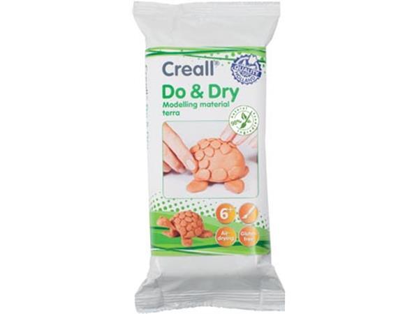 Creall Boetseerpasta Do & Dry terracotta. pak van