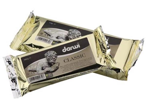Darwi boetseerpasta Classic. pak van 1 kg. wit